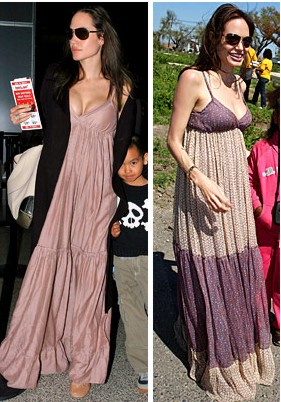 Angelina maternity