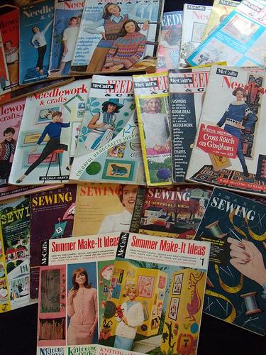 Vintage craft magazines