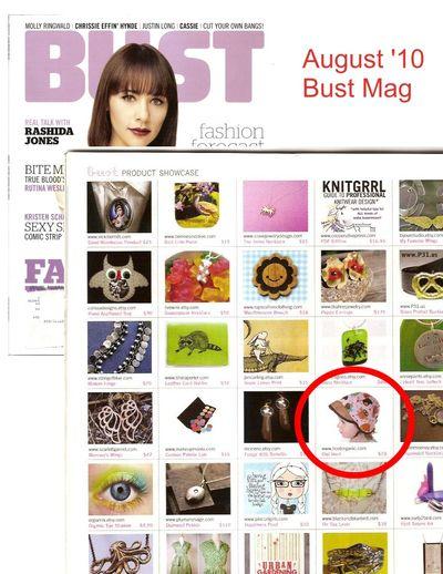 Bust product showcase