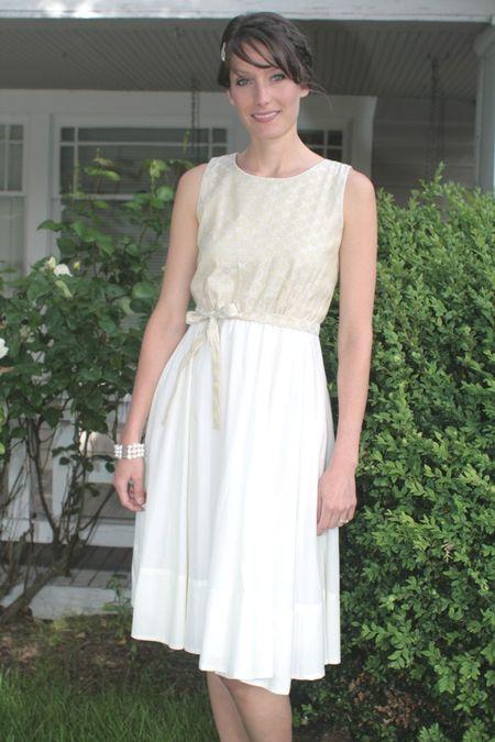 1o.Suzy Fairchild Brocade Fete Dress