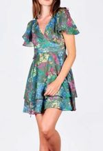 Jack green flower dress