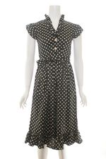 Frock Shop polka dot ruffle dress