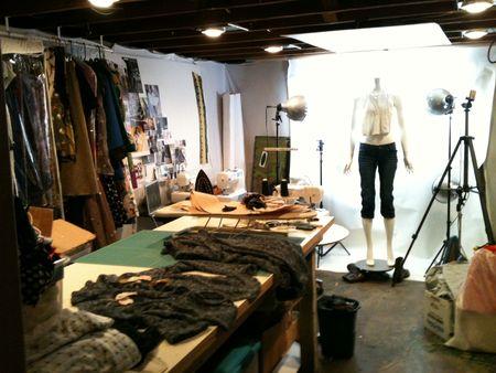 Fall studio