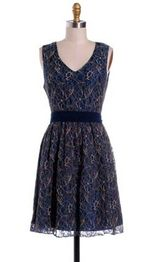 Hazel Midnight lace dress