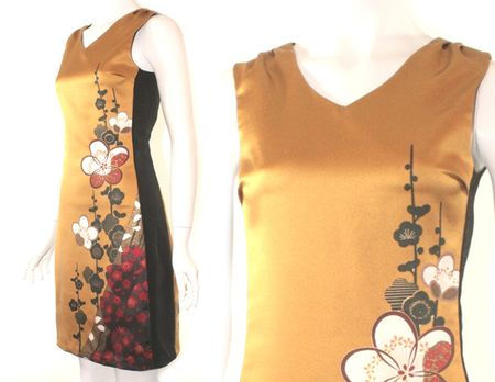 Suzy fairchild vintage kimono dress