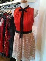 Kensie sesame lace dress 1