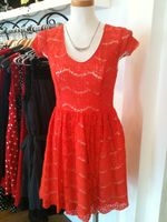 Kensie sherbet lace dress 1
