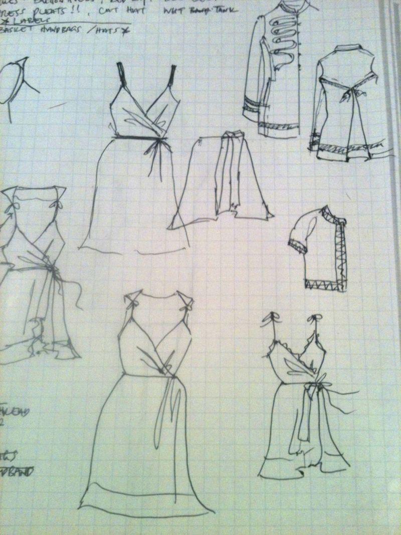 Peroni challenge sketches
