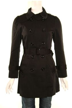 Papillon trench coat