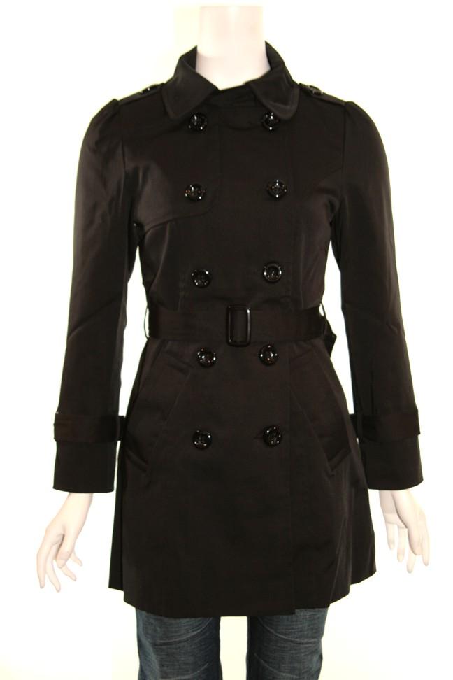 Papillon trench coat