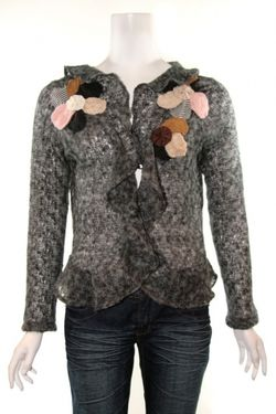 Suzy fairchild mohair cardigan
