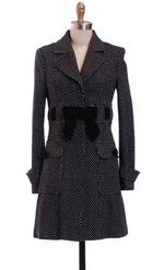 Hazel dotty coat