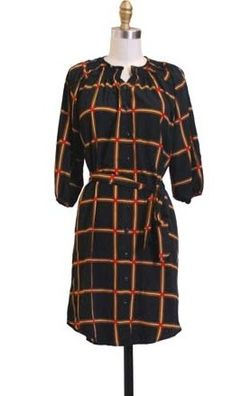 Hazel check shirt dress - Copy
