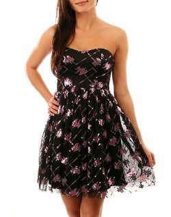 Strapless glitter dress - Copy