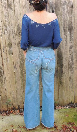 Star butt jeans