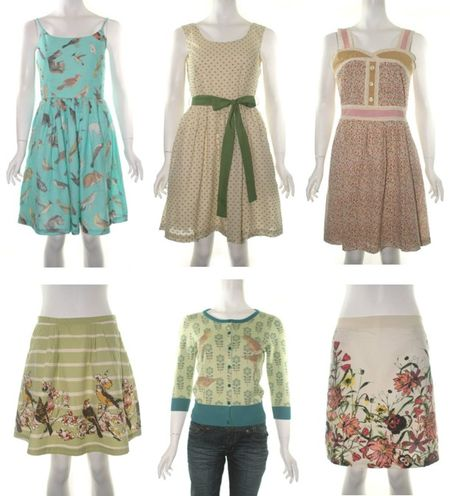 Knitted dove spring dresses skirts cardigan