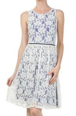 Mystree lace over dress
