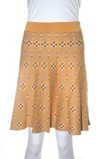 Nick & mo kaleidoscope knit skirt M