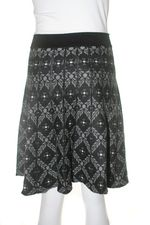 Nick & mo kaleidoscope knit skirt back - Copy