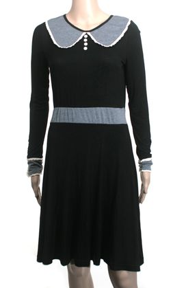 Knitted dove wednesday dress - Copy