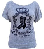 Annex dolman tee queen of shoes
