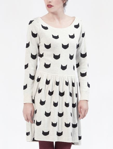 Dear creatures buster cat dress