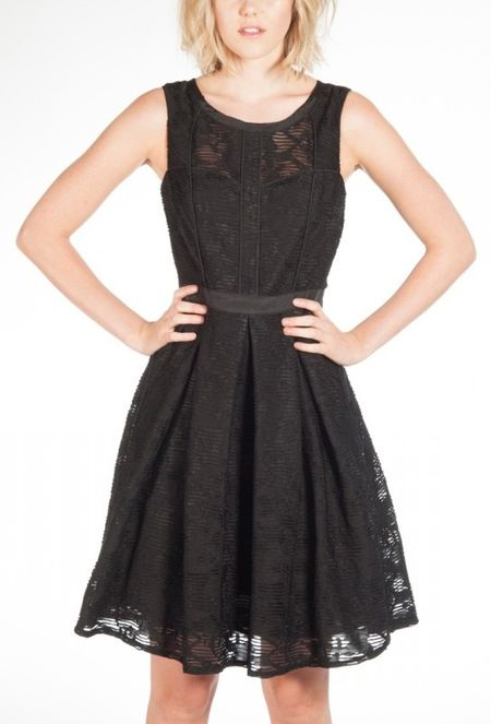 Pink Martini the-elora-dress-black