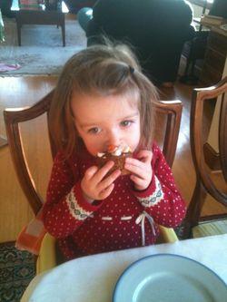 Juniper cupcake