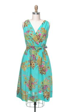 Kensington dress teal frock shop