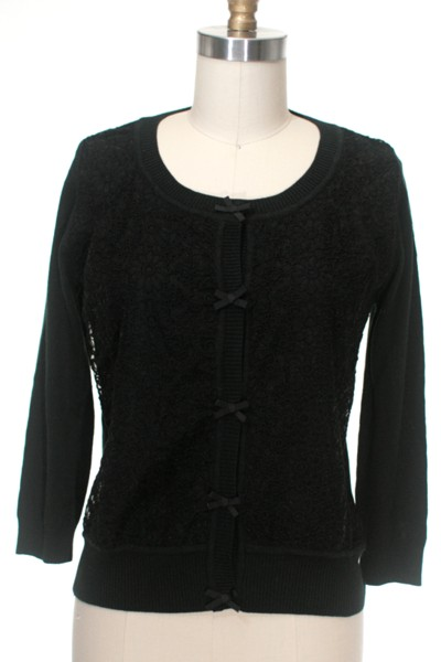 Florentine cardigan black frock shop