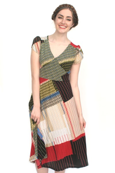 Bridget block dress