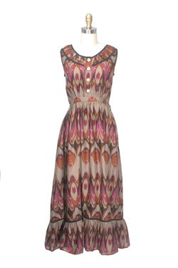 Madison ikat dress frock shop - Copy