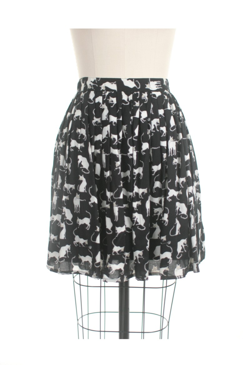 Frock shop siamese cat skirt