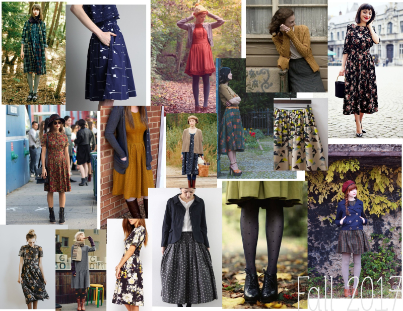 Frock shop moodboard  fall 2017