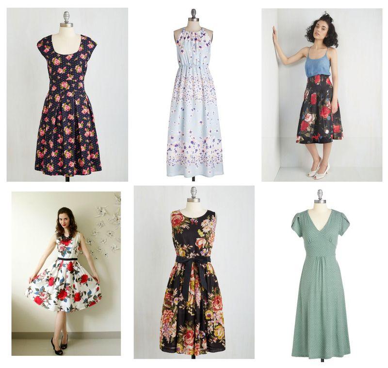 Frock shop modcloth flowers spring dresses