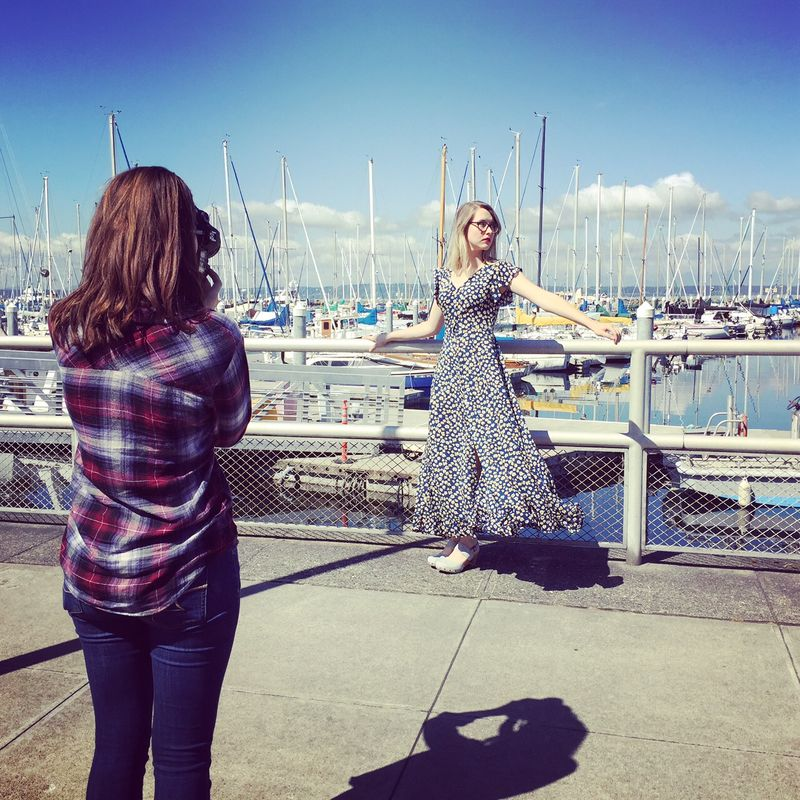 Frock shop spring 2016 photoshoot