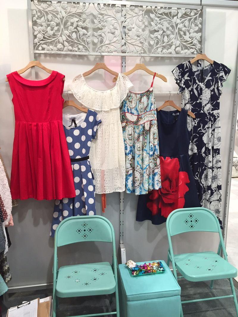 Frock shop spring 2016 magic vegas display
