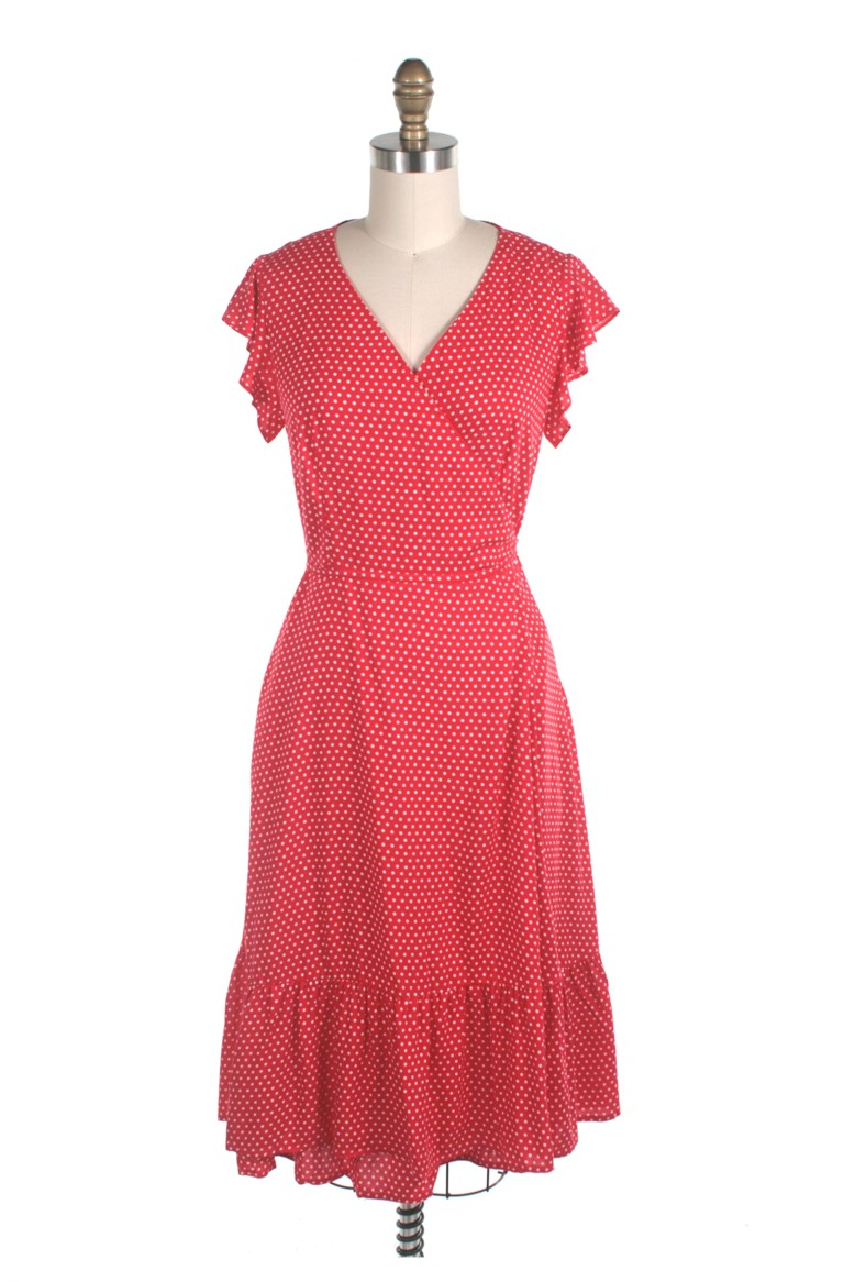 Frock shop homepage dot dress