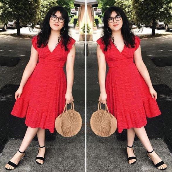 Frock shop homepage dot dress