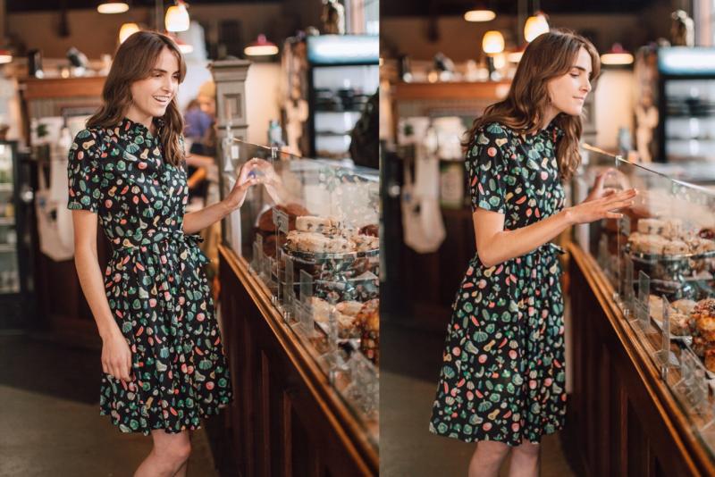 Frock shop homepage veggie dress
